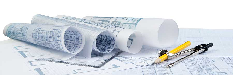 bigstock-Plan-Of-Architecture-On-White-44853019